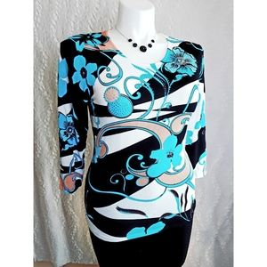 Large Jeweled Sweater Art Deco Print by Peck&Peck